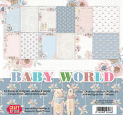 Craft & You - Baby World 12x12 Block