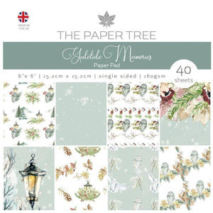 Paper tree - yuletide memories - paper pad