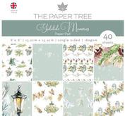 Paper tree - yuletide memories - paper pad