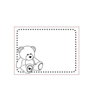 Darice - embosingfolder - nallebjörn