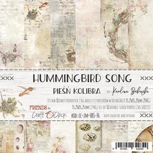 Craft O´ Clock - Humming birdsong 6x6#