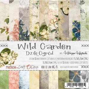 "Craft O´ Clock - wild garden  6x6"""