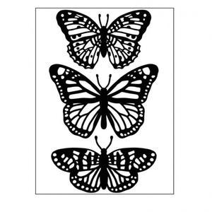 Darice- Embossingfolder - Butterfly trio