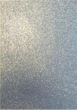 Eva foam - glitter silver