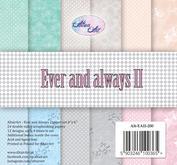 "Altair Art - 12x12 "" block - Ever and Always  II"