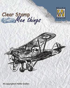Nellie - Snellen - clear stamp  Men things 004