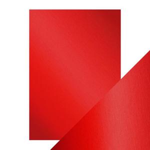 Craft Perfect - Mirror card-Satin - Scarlet Organza