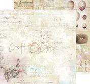 """Craft O´ Clock - Humming birdsong 12 x12"""" -01"""