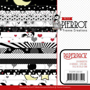 Yvonne Creations - Paperpad - Petit Pierrot