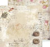"""Craft O´ Clock - Humming birdsong 12 x12"""" -02"""