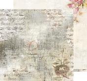 """Craft O´ Clock - Humming birdsong 12 x12"""" -03"""