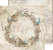 """Craft O´ Clock - Humming birdsong 12 x12"""" -05"""