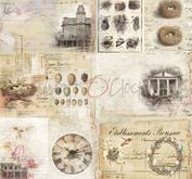 """Craft O´ Clock - Humming birdsong 12 x12"""" -09"""