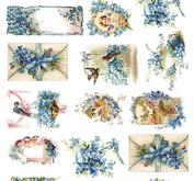 Rice decoupage paper R1343