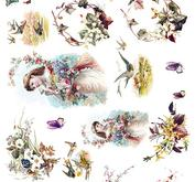 Rice decoupage paper R1333