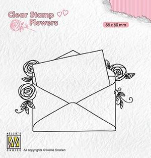 Nellie Snellen - Clear stamp - love letter