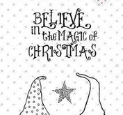 Studio Light - Clearstamp - belive in the magic of christmas