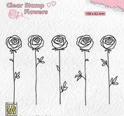 Nellie Snellen - Clear stamp -Roses
