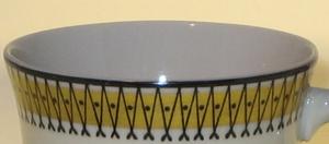 Mokkakuppit ja alusvadit, 6 kpl, Medina