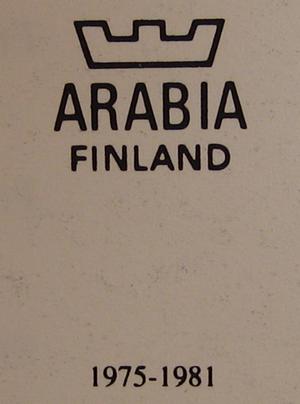 Väggfat, Finnar vid ishavets kust, nr 9, A Alariesto (SÅLD)