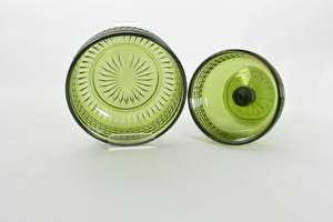 Skålar 2 st, Barokki, grön, ETS(SÅLD)