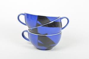 Teekupit, 3 kpl, Domino Combo