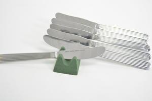 Knivar, 6 st, matknivar, Scandia/Ideal, KF