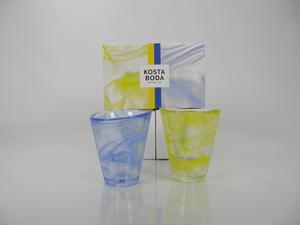 Glas 2 st,  Mine, Blue och Yellow UHV