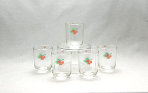 Selterglas, 5 st, Luna KF