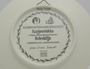 Seinälautanen, Kurjenmiekka, Maakuntakukka, KB