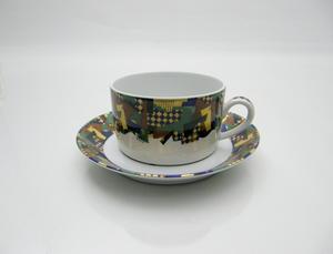Teekuppi ja alusvati, Festivo, HO