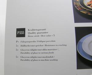 Tallrikar 4 st,  djupa, Quattro Nero, BW