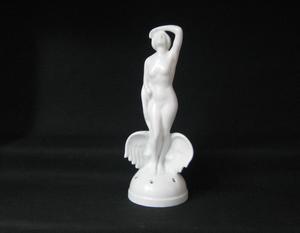 Figur, Blomsterhållare, Leda och svan,  K24