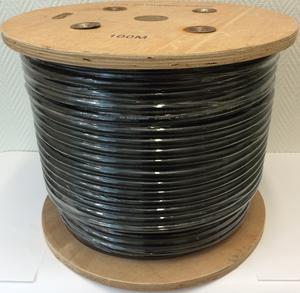 Antennkabel LLH600 - 100m - Svart