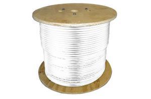 Antennkabel LLH400/LMR400 - 100m - Vit