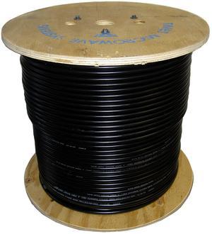 Antennkabel LLH400/LMR400 - 500m - Svart
