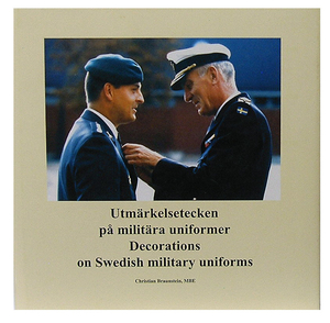 Decorations on Swedish military uniforms