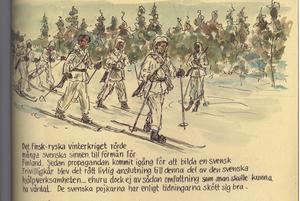 Någonstans i Sverige - beredskapslivet 1939-45 i bilder