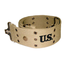 Pistol belt M1936 with brass eyelets 144 cm