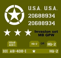Invasion set  MB GPW