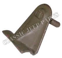 Bracket windshield adjusting knob weld in place NOS