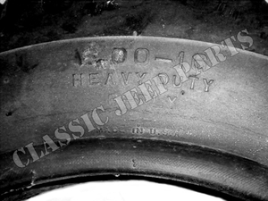 "Firestone NDT däck 6.00-16 MADE IN USA  ""NYTT ORIGINALMÖNSTER"""