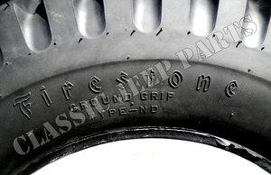 Firestone NDT däck 6.00-16 MADE IN USA