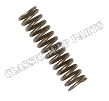 Oil pump plunger spring