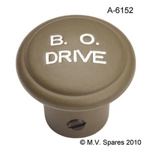 "Knapp mörkerbelysning i zink ""B.O.DRIVE"""