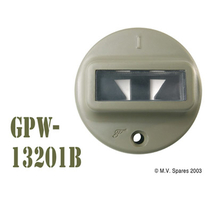 Door marker light with gasket FORD GPW F-script