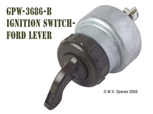 Ignition switch with lever FORD GPW