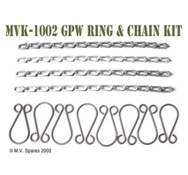 Thumbscrew ring and chain kit FORD GPW