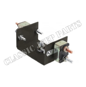 Thermal circuit breaker 8 amp fuel gauge without nuts