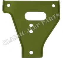 Bumper gusset lower left WILLYS MB